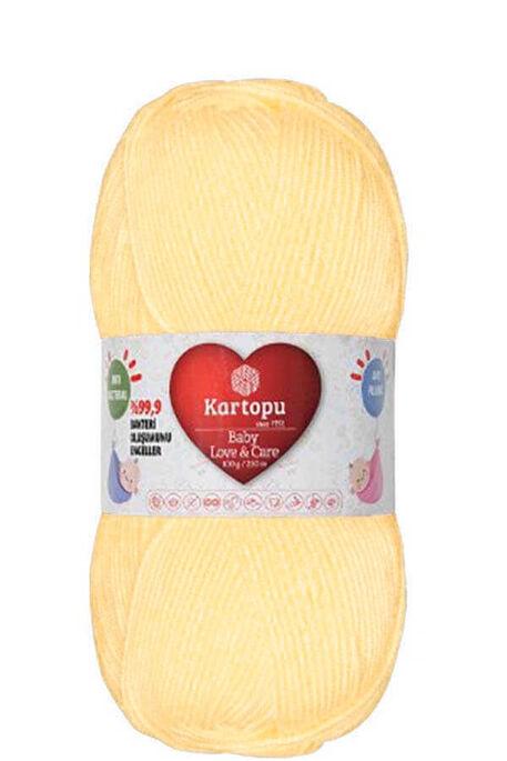 KARTOPU - KARTOPU BABY LOVE&CARE K356 Açık Sarı