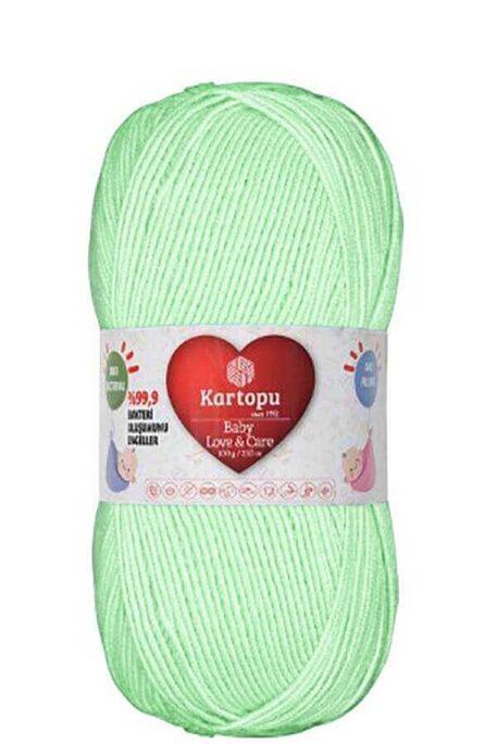 KARTOPU - KARTOPU BABY LOVE&CARE K485 Bebek Yeşili