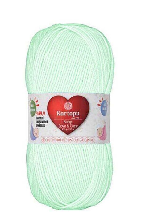 KARTOPU - KARTOPU BABY LOVE&CARE K489 Su Yeşili