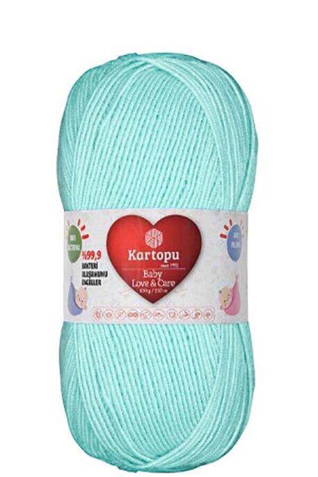 KARTOPU - KARTOPU BABY LOVE&CARE K565 Buz Mavi