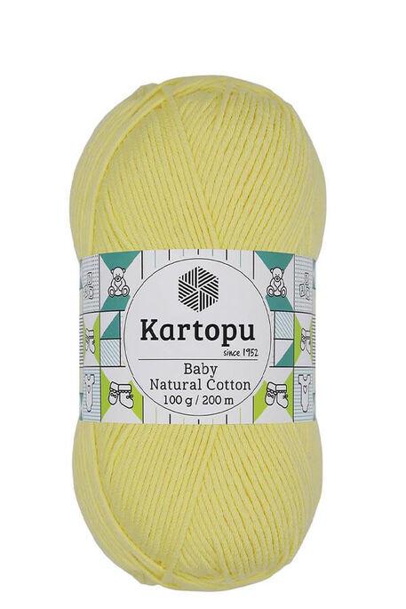 KARTOPU - KARTOPU BABY NATURAL COTTON K333 Sarı