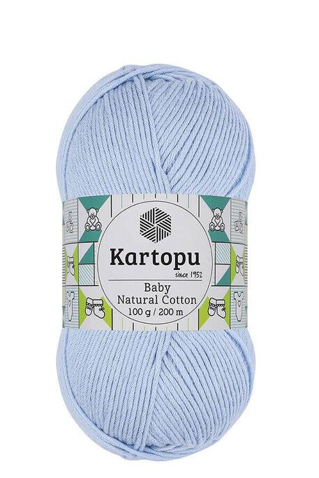 KARTOPU - KARTOPU BABY NATURAL COTTON K544 Bebe Mavi