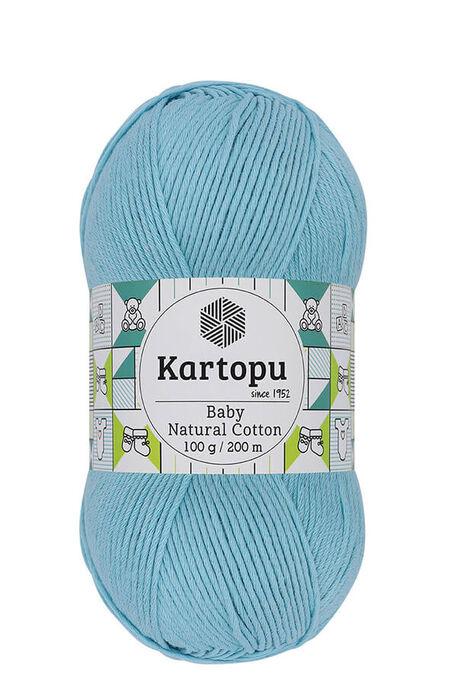 KARTOPU - KARTOPU BABY NATURAL COTTON K551 Turkuaz