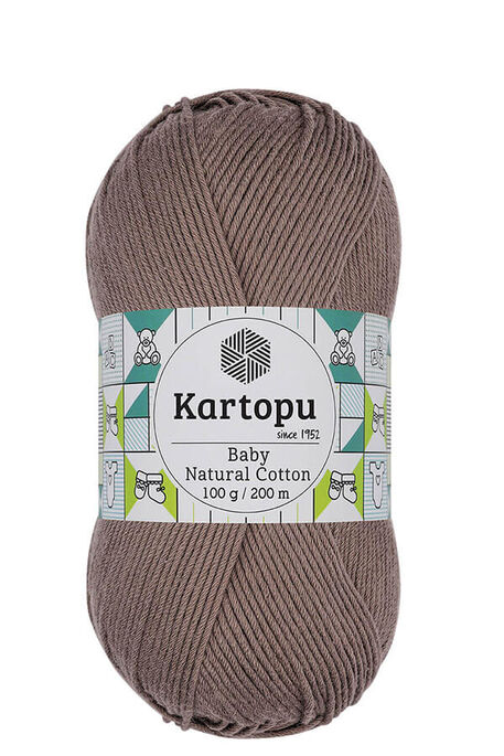 KARTOPU - KARTOPU BABY NATURAL COTTON K827 Vizon