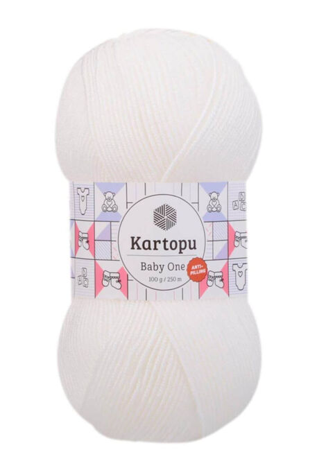 KARTOPU - KARTOPU BABY ONE K010 Beyaz