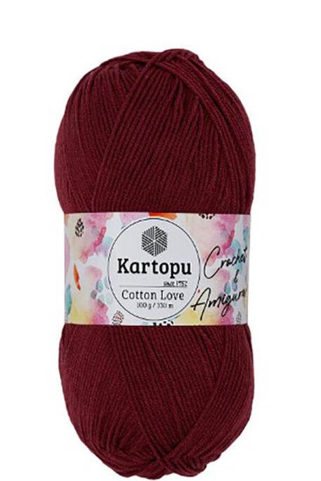 KARTOPU - KARTOPU COTTON LOVE K104 Marsala