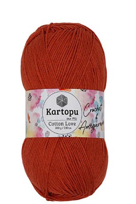 KARTOPU - KARTOPU COTTON LOVE K269 Taba