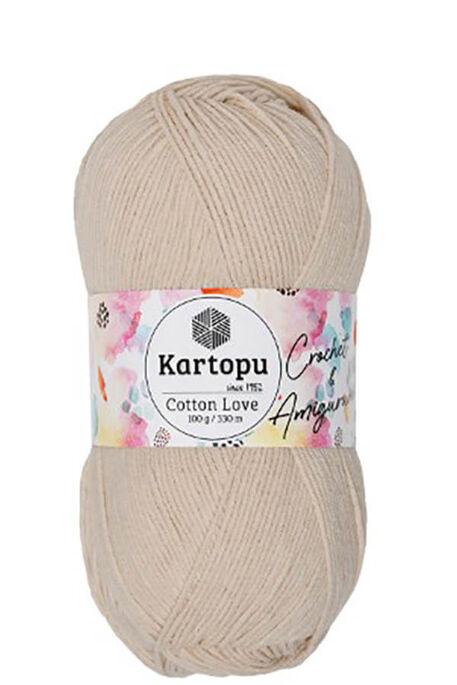 KARTOPU - KARTOPU COTTON LOVE K354 Açık Ten