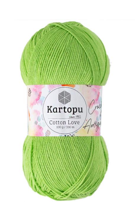 KARTOPU - KARTOPU COTTON LOVE K404 Fıstık Yeşili
