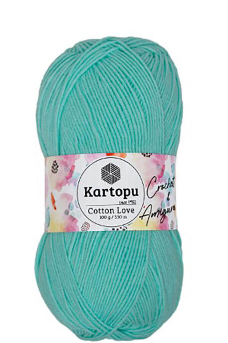 KARTOPU - KARTOPU COTTON LOVE K507 Mint