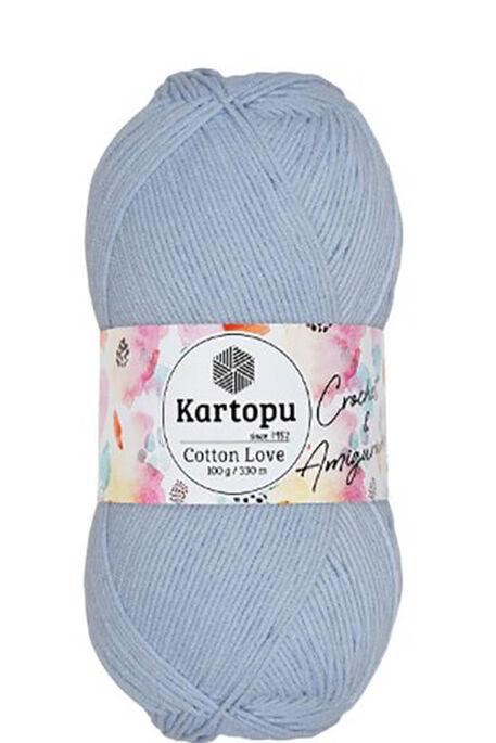 KARTOPU - KARTOPU COTTON LOVE K580 Bebe Mavi