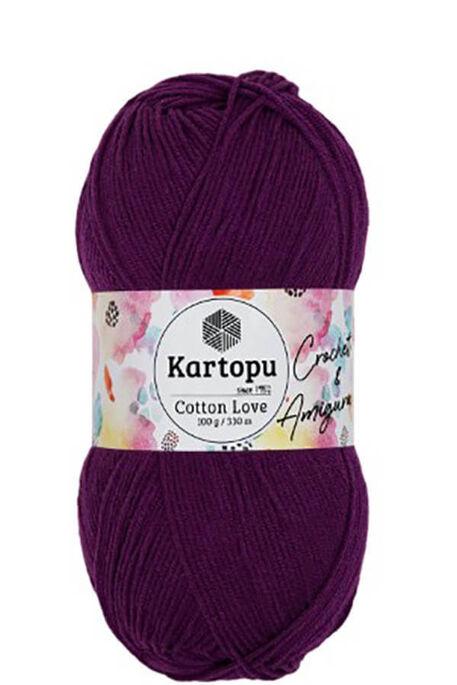 KARTOPU - KARTOPU COTTON LOVE K727 Mor