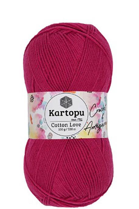 KARTOPU - KARTOPU COTTON LOVE K734 Fuşya