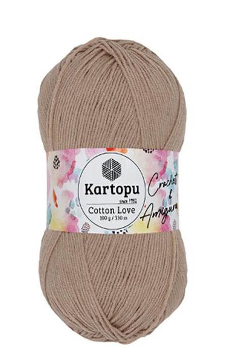 KARTOPU - KARTOPU COTTON LOVE K850 Bej