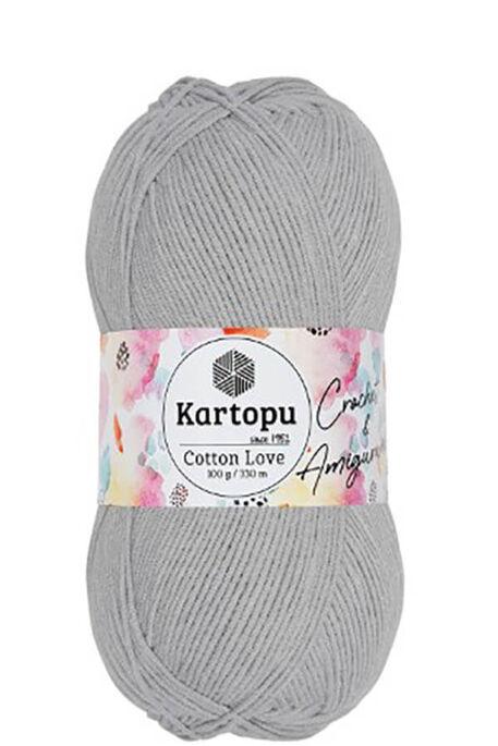 KARTOPU - KARTOPU COTTON LOVE K991 Açık Gri