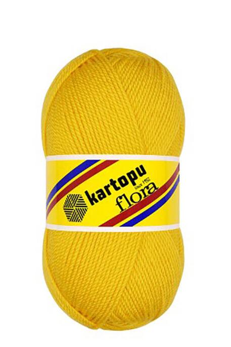 KARTOPU - KARTOPU FLORA K320 Koyu Sarı