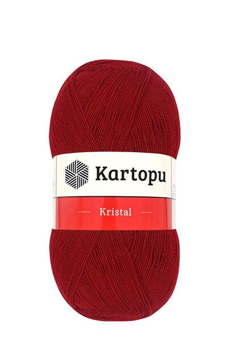 KARTOPU - KARTOPU KRİSTAL K125 Koyu Kırmızı