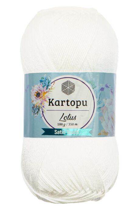 KARTOPU - KARTOPU LOTUS K010 Beyaz