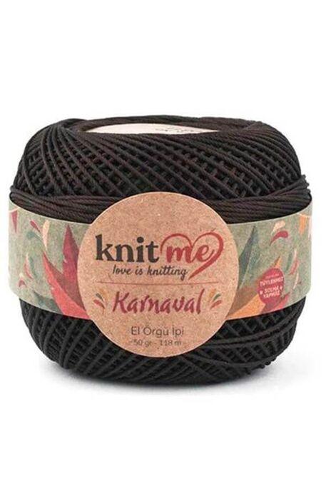 KNIT ME - KNIT ME KARNAVAL 00811 Koyu Kahve