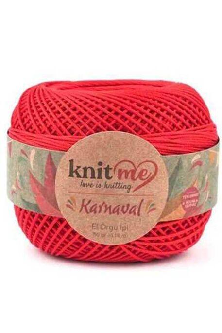 KNIT ME - KNIT ME KARNAVAL 01616 Kırmızı