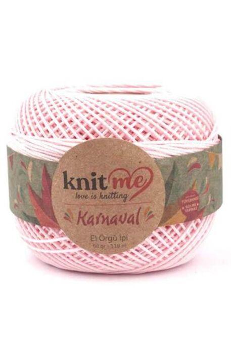 KNIT ME - KNIT ME KARNAVAL 02261 Toz Pembe