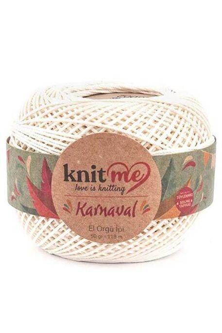 KNIT ME - KNIT ME KARNAVAL 03002 Krem