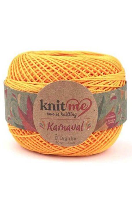 KNIT ME - KNIT ME KARNAVAL 03009 Koyu Sarı