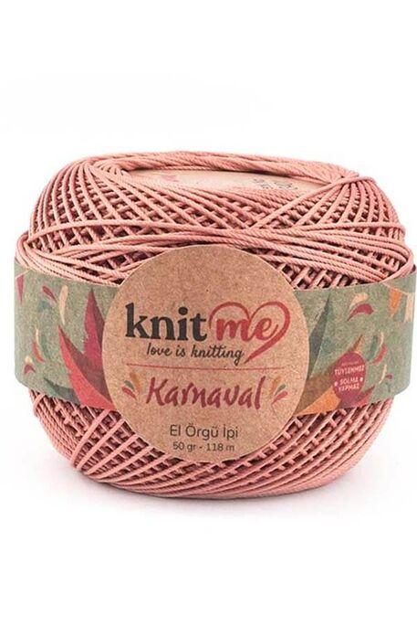 KNIT ME - KNIT ME KARNAVAL 03401 Kirli Pudra