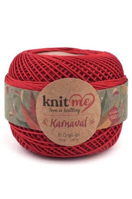 KNIT ME - KNIT ME KARNAVAL 04015 Koyu Kırmızı
