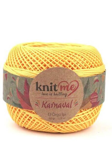 KNIT ME - KNIT ME KARNAVAL 06487 Sarı