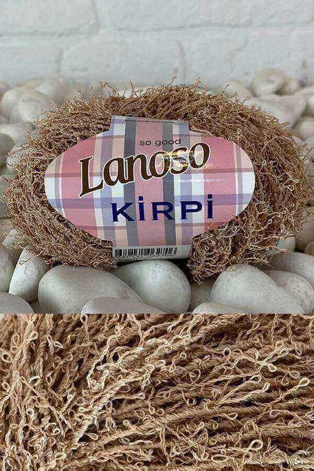 LANOSO - LANOSO KİRPİ 971 SÜTLÜ KAHVE