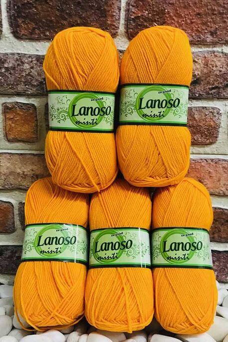 LANOSO - LANOSO MİNTİ (5 li paket) 903 Bal Kabağı