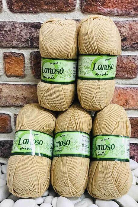 LANOSO - LANOSO MİNTİ (5 li paket) 905 Sütlü Kahve