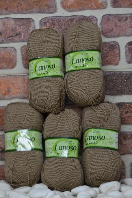 LANOSO - LANOSO MİNTİ (5 li paket) 909 Vizon