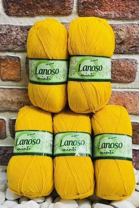 LANOSO - LANOSO MİNTİ (5 li paket) 913 Koyu Sarı