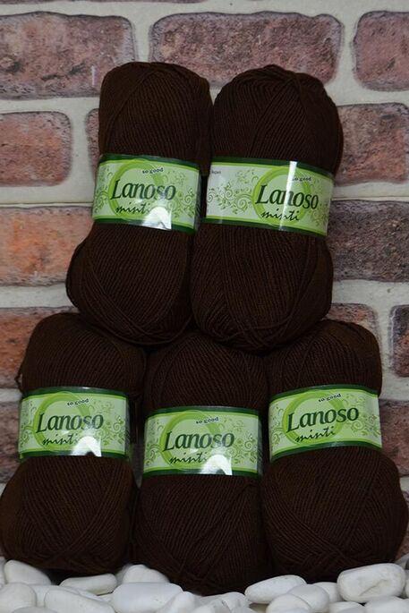 LANOSO - LANOSO MİNTİ (5 li paket) 924 Koyu Kahve
