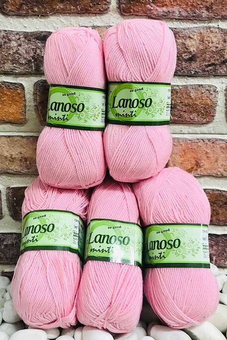 LANOSO - LANOSO MİNTİ (5 li paket) 931 Pembe