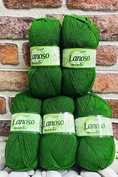 LANOSO - LANOSO MİNTİ (5 li paket) 935 Çam Yeşili