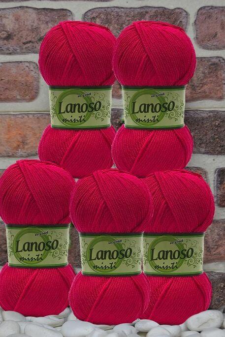 LANOSO - LANOSO MİNTİ (5 li paket) 948 Fuşya