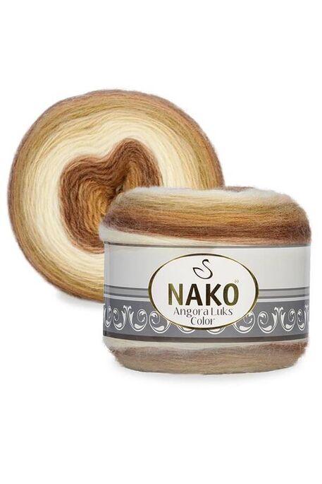 NAKO - NAKO ANGORA LÜKS COLOR 150 GR 82359