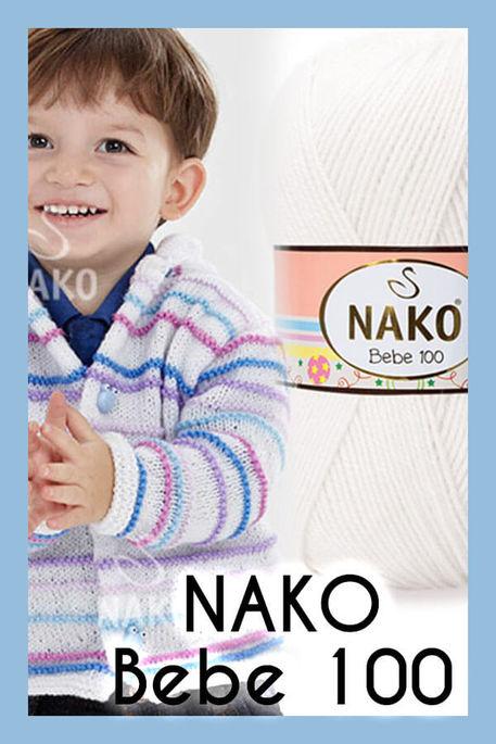 NAKO - NAKO BEBE 100 208 Beyaz
