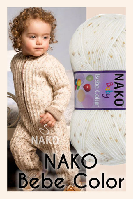 NAKO - NAKO BEBE COLOR 31373