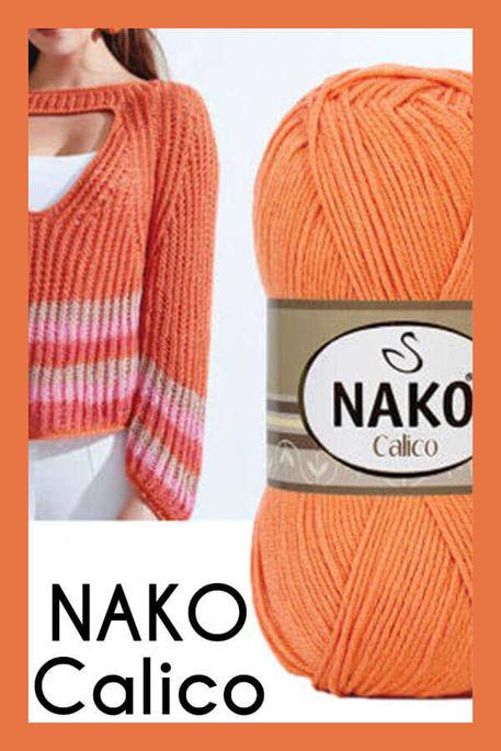 NAKO - NAKO CALİCO 4570 Turuncu
