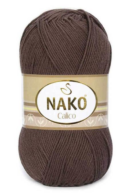 NAKO - NAKO CALİCO 6962 Kahverengi
