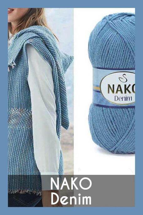 NAKO - NAKO DENİM 11576 Kot Mavisi