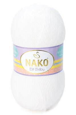 NAKO - NAKO ELİT BABY 208 Beyaz