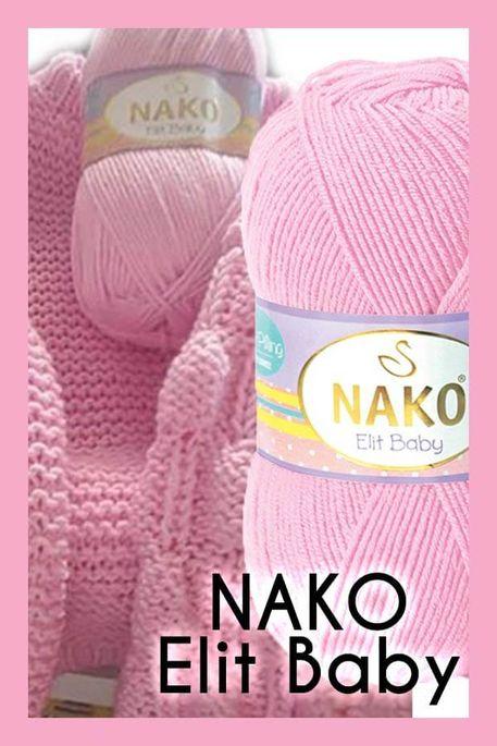 NAKO - NAKO ELİT BABY 6936 Açık Pembe