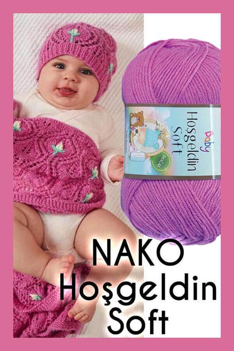 NAKO - NAKO HOŞGELDİN SOFT 1249 Gül