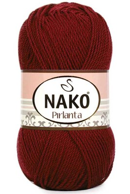 NAKO - NAKO PIRLANTA 1175 Koyu Kırmızı