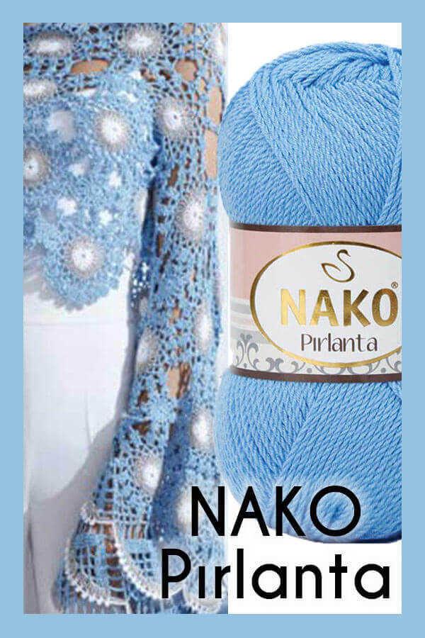 NAKO PIRLANTA 6976 Canlı Mavi